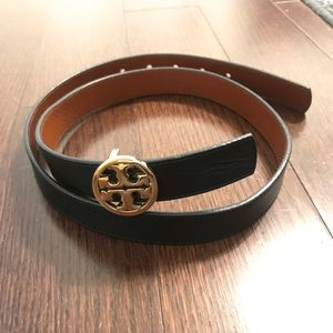 Reversible Leather Tory Burch Belt XS